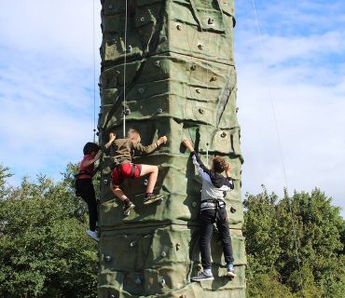 Climbing Wall   EDGE Outdoor Activities   Lets Go Out